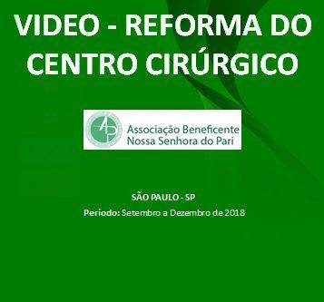 Reforma do centro cirúrgico